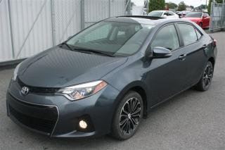 Used 2014 Toyota Corolla S for sale in Saint-eustache, QC