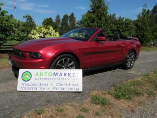 Used 2011 Ford Mustang GT Convertible C/S, NAVI, NEW ENGINE, INSPECTED, FREE WARR, FINANCING for sale in Surrey, BC