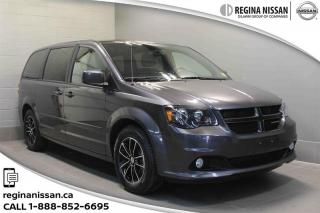 Used 2017 Dodge Grand Caravan GT LEATHER - HEATED WHEEL - BLUETOOTH for sale in Regina, SK