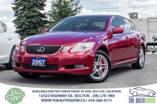 Used 2007 Lexus GS 350 AWD Ultra Premium GPS NAVI Rear Camera No Accident for sale in Caledon, ON