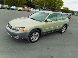 Used 2005 Subaru Outback 3.0 R Pas Cher for sale in Saint-georges, QC
