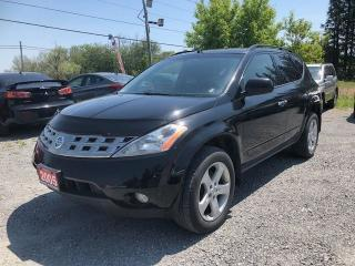 Used 2005 Nissan Murano SL AWD POWER SUNROOF for sale in Gormley, ON