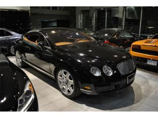 Used 2006 Bentley Continental GT | CARPROOF CLEAN | BLACK ON BROWN for sale in Oakville, ON