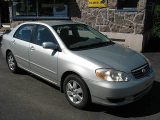 Used 2003 Toyota Corolla LE TOUT ÉQUIPÉ for sale in Quebec, QC