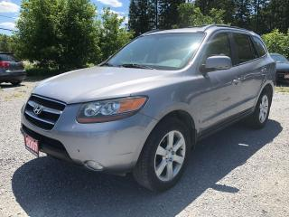 Used 2007 Hyundai Santa Fe GLS AWD LEATHER SUNROOF for sale in Gormley, ON