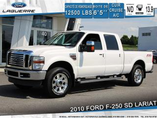 Used 2010 Ford F-250 Lariat 4x4 Cuir for sale in Victoriaville, QC