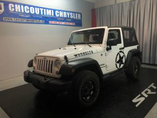 Used 2015 Jeep Wrangler 4 RM 2 portes Sport for sale in Chicoutimi, QC