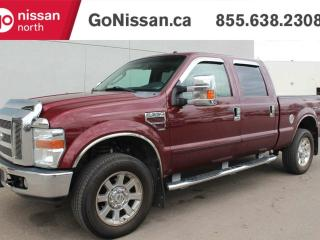Used 2008 Ford F-350 Super Duty SRW Lariat DIESEL, 4x4, CREW, LEATHER, HEATED SEATS, GREAT SHAPE! for sale in Edmonton, AB
