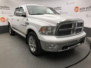 Used 2012 RAM 1500 Laramie 4x4 Crew Cab for sale in Red Deer, AB