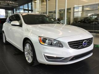 Used 2015 Volvo V60 T6 PREMIER PLUS, AWD, ACCIDENT FREE for sale in Edmonton, AB