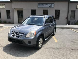 Used 2005 Honda CR-V EX-L,LEATHER,SUNROOF,RUNNING BOARDS for sale in Burlington, ON