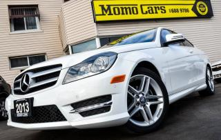 Used 2013 Mercedes-Benz C250 C250 !Leather! Moonroof! Only$173/bi-weekly! for sale in St. Catharines, ON