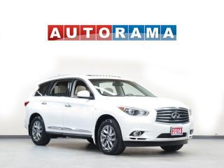 Used 2014 Infiniti QX60 NAVIGATION LEATHER PAN SUNROOF 7 PASS 4WD ALLOYS for sale in North York, ON
