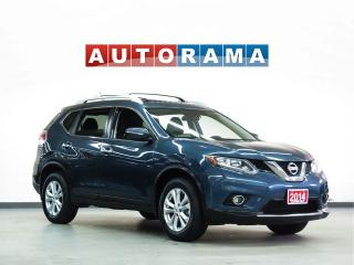 Used 2014 Nissan Rogue SL NAVIGATION LEATHER SUNROOF 4WD BACKUP CAM for sale in North York, ON
