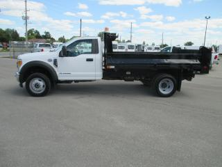 Used 2017 Ford F-550 XL.11 FT.DEL STEEL DUMP BODY for sale in London, ON