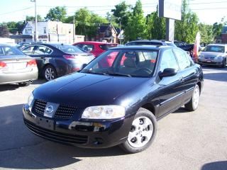 Used 2005 Nissan Sentra 1.8 Special Edition,One Owner,No Accident for sale in Kitchener, ON