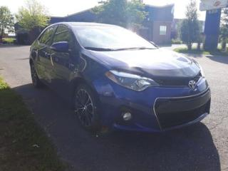 Used 2014 Toyota Corolla S - Cuir / Tissus for sale in Drummondville, QC