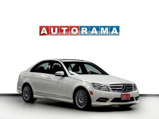 Used 2011 Mercedes-Benz C-Class LEATHER SUNROOF 4WD for sale in North York, ON