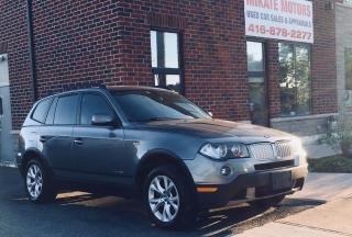 Used 2009 BMW X3 3.0 I X-DRIVE for sale in Etobicoke, ON
