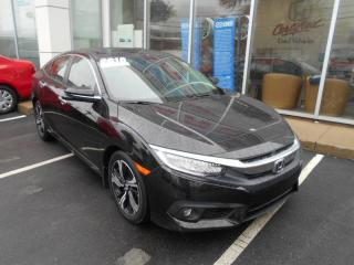 Used 2016 Honda Civic Touring HEATED FRONT SEATS AND HEATED REAR SEATS for sale in Halifax, NS