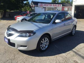 Used 2007 Mazda MAZDA3 Automatic/Sunroof/Super Gas Saver/Certified for sale in Scarborough, ON