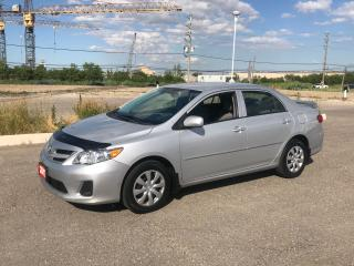 Used 2013 Toyota Corolla LE for sale in Brampton, ON