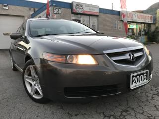 Used 2006 Acura TL Leather_Sunroof_Bluetooth for sale in Oakville, ON