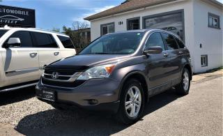 Used 2011 Honda CR-V EX-L w/Navi Back-up Cam DVD AWD NO ACCIDENT for sale in Mississauga, ON