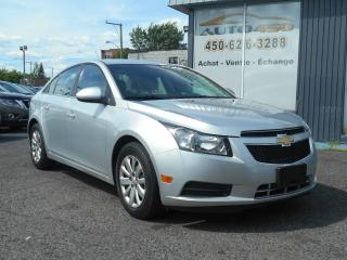 Used 2011 Chevrolet Cruze ***LT,BAS KILO,AIR CLIMATISÉ*** for sale in Longueuil, QC