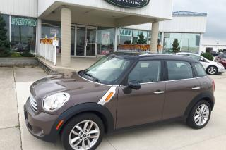 Used 2012 MINI Cooper Countryman AUTO / LOADED / NO PAYMENTS FOR 6 MONTHS for sale in Tilbury, ON