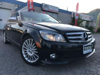 Used 2009 Mercedes-Benz C230 2.5L CLEAN CARPROOF_LOW KMs_4MATIC for sale in Oakville, ON