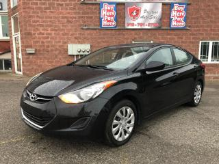 Used 2011 Hyundai Elantra GL/ONE OWNER/NO ACCIDENT/CERTIFIED/WARRANTY INCL for sale in Cambridge, ON