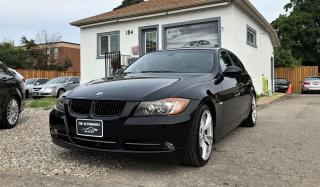 Used 2008 BMW 328i 328i MANUAL NO ACCIDENT LEATHER for sale in Mississauga, ON