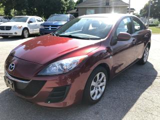 Used 2010 Mazda MAZDA3 ONE OWNER/CERTIFIED/WARRANTY INCLUDED for sale in Cambridge, ON