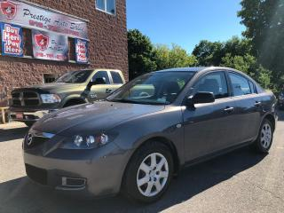 Used 2008 Mazda MAZDA3 GS/ONE OWNER/NO ACCIDENT/CERTIFIED/WARRANTY INCL for sale in Cambridge, ON