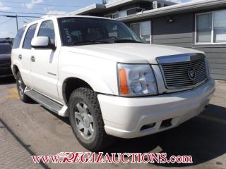 Used 2005 Cadillac ESCALADE  4D UTILITY AWD for sale in Calgary, AB