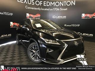 New 2018 Lexus RX 350 F Sport Series 3 for sale in Edmonton, AB