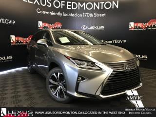 New 2018 Lexus RX 350L Executive Package 6 Passenger for sale in Edmonton, AB