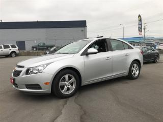 Used 2012 Chevrolet Cruze LT Fully Loaded Automatic Only 101,000Km for sale in Langley, BC