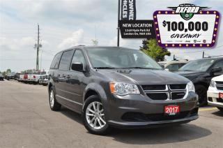 Used 2017 Dodge Grand Caravan SXT - dvd, low mileage, extremely clean for sale in London, ON