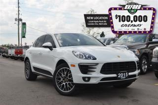 Used 2015 Porsche Macan S - nav, heated/vented seats, stop/start tech for sale in London, ON