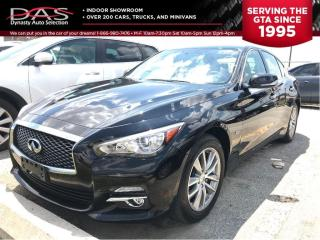 Used 2017 Infiniti Q50 2.0t AWD PREMIUM PKG LEATHER/SUNROOF for sale in North York, ON
