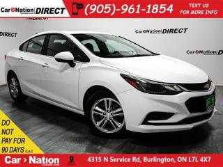 Used 2017 Chevrolet Cruze LT| SUNROOF| BACK UP CAMERA & SENSORS| for sale in Burlington, ON