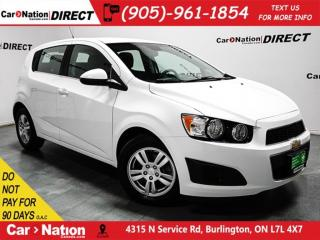 Used 2013 Chevrolet Sonic LT| HEATED SEATS| LOCAL TRADE| OPEN SUNDAYS| for sale in Burlington, ON