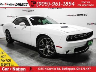 Used 2015 Dodge Challenger SXT| BACK UP CAMERA & SENSORS| NAVI| for sale in Burlington, ON