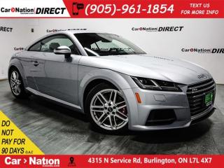 Used 2016 Audi TTS 2.0T| AWD| NAVI| BACK UP CAMERA & SENSORS| for sale in Burlington, ON