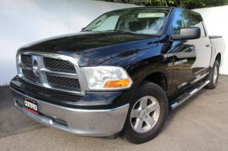 Used 2012 RAM 1500 Crew SLT 4x4 Tonneau cover Side step bars for sale in Mississauga, ON
