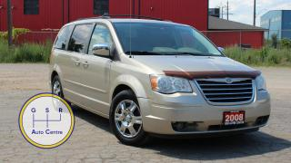 Used 2008 Chrysler Town &  Country TOURING | 7 PASSENGER | DUAL TV SCREENS | SWIVEL SEATS | EVERYONE GETS APPROVED! for sale in Hamilton, ON