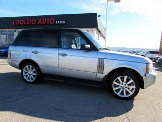 Used 2009 Land Rover Range Rover HSE AWD NAVIGATION CAMERA SUNROOF BLUETOOTH for sale in Milton, ON