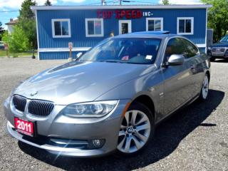 Used 2011 BMW 3 Series 328i xDrive Coupe/ONE OWNER/RED INTERIOR/SUNROOF/CERTIFIED for sale in Guelph, ON